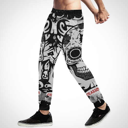 stylische Jogginghosen - GrafikDesign - AllOverPrint - Freizeithosen - Sport