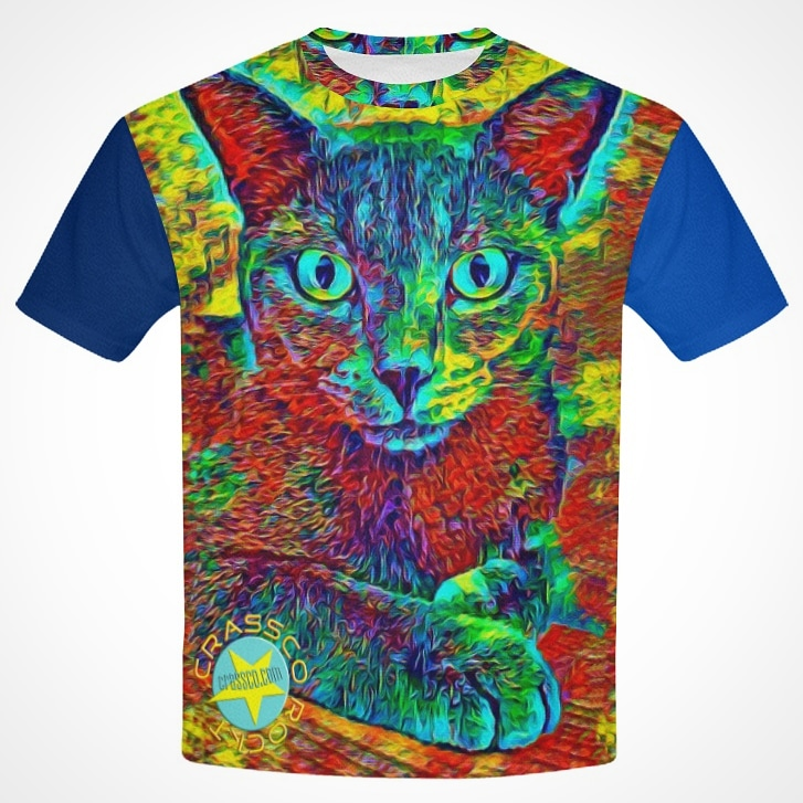Cat multicolor AllOverPrinted by crassco
