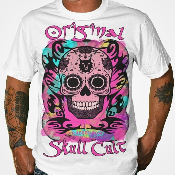 Original Skull Cult Pink by crassco