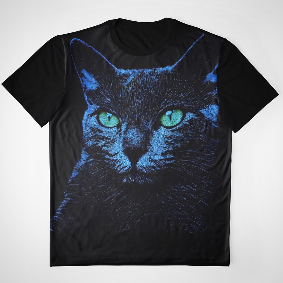 Blue Cat Russian Blue Russisch Blau Katze by crassco