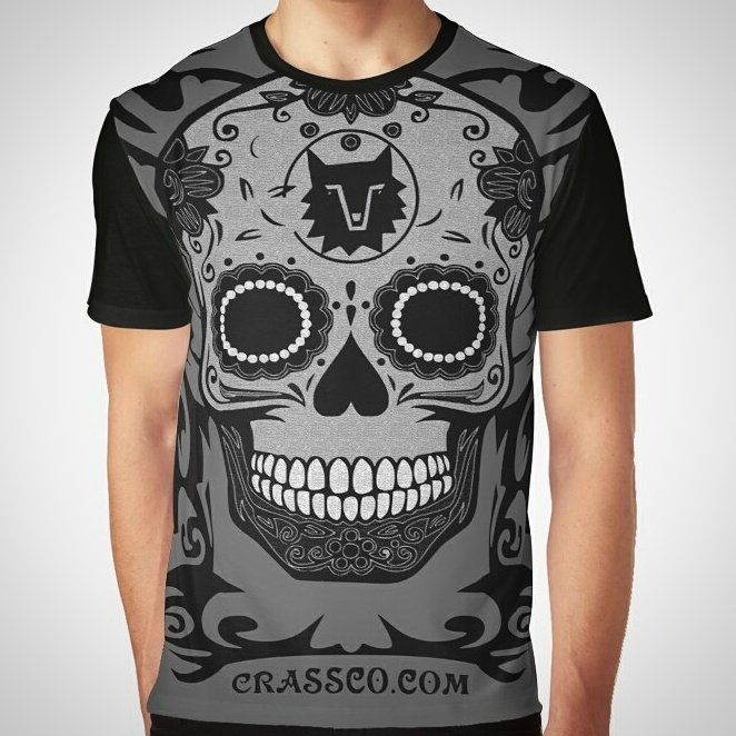 Skull Tribal Shirt by crassco