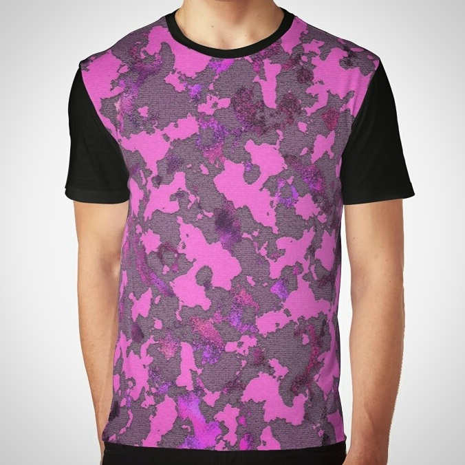 Pink Camouflage AllOverPrint by crassco